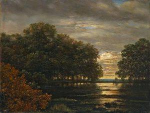Carl Gustav Carus - Überschwemmung Im Leipziger Rosental