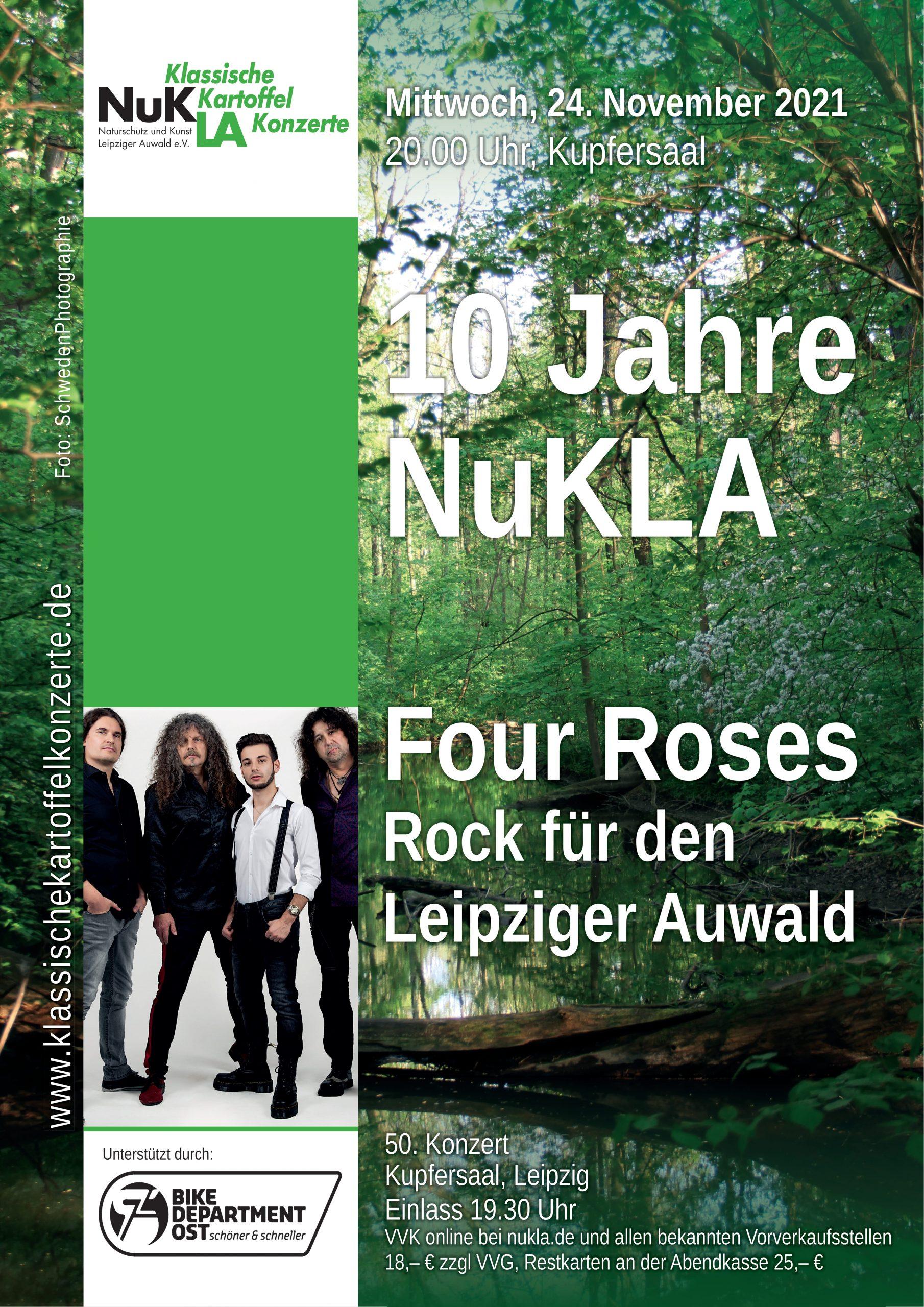 10 Jahre NuKLA mit Four Roses